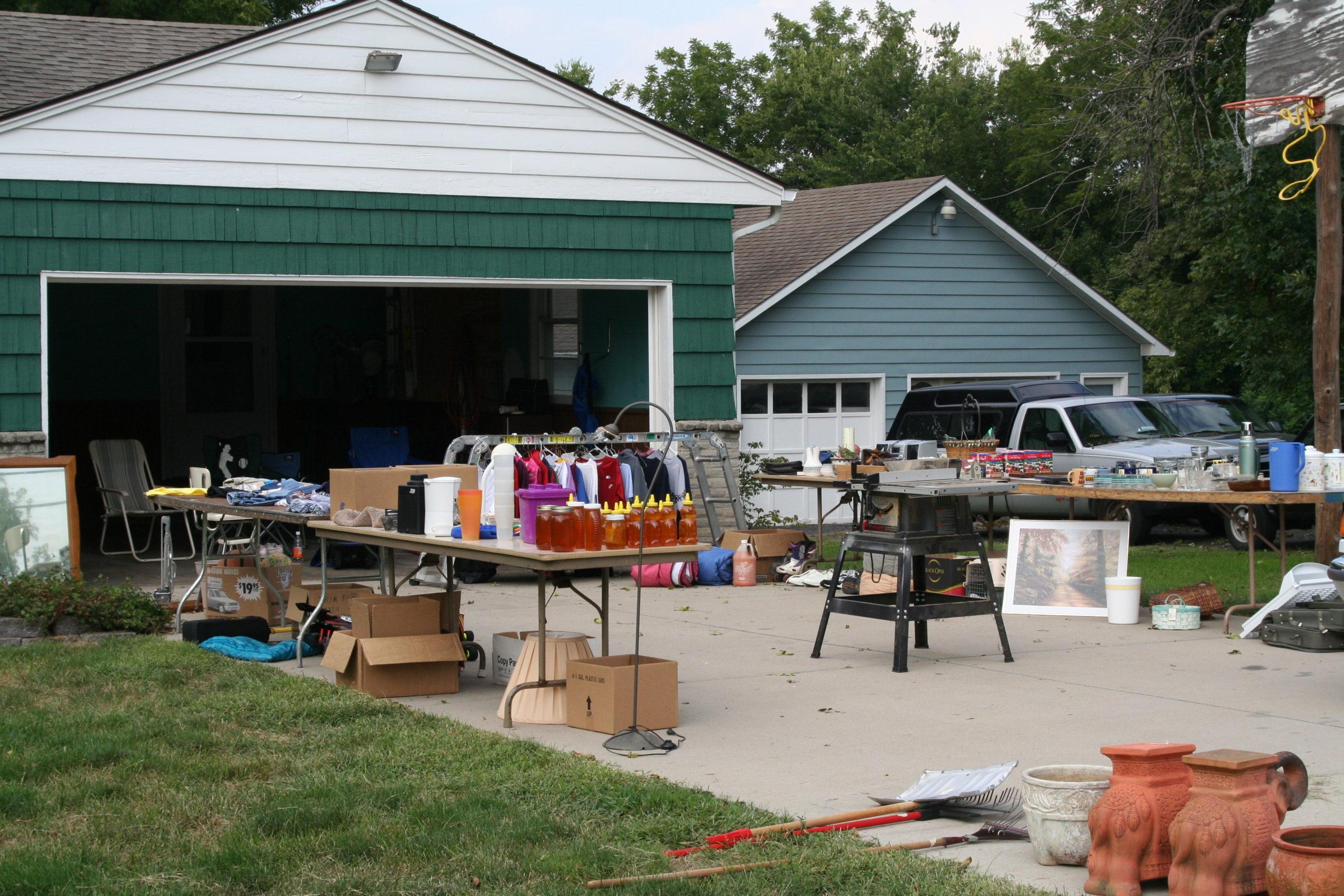 Lake Wide Garage Sales
